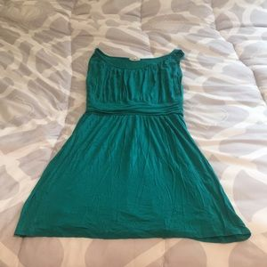 One Clothing Green Cotton Dress